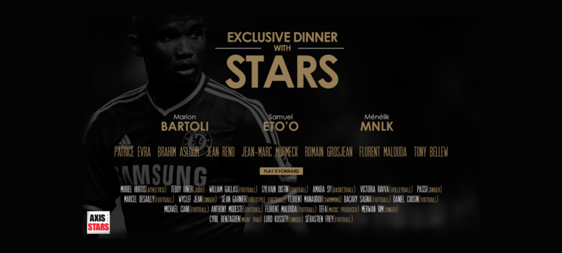 Axis Stars - Exclusive dinner with stars